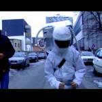 Astronauten sehen was von der Welt