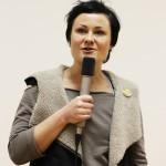 Katja Jäger begrüßt zum Jubiläumsprogramm