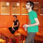 Dominik Tschütscher begrüßt zum Jubiläumsprogramm