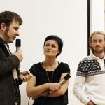 """Leonhard Müllner und Alexander Vittoria Papsch (""""Schachteln"""") im Gespräch mit Katja Jäger"""