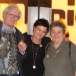 Katja Jäger vom film:riss-Team mit Marlene und Siegfried Ramsauer