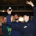 Hüseyin, Serkan und Hansi feiern den Publikumsaward