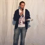 Stefan Deller bei der Preisverleihung