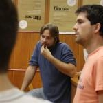 Alex Glehr beim Produktionsworkshop