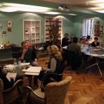 Beim Workshop der Drehbuchwerkstatt Salzburg