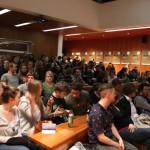 Das Publikum beim Fiktion-Wettbewerb