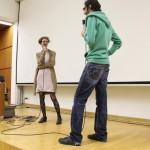 Dominik Tschütscher im Gespräch mit Bernadette Anzengruber