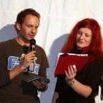 Stefan Deller und Martina Stock bei der Preisverleihung