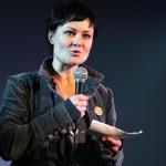 Katja Jäger übergibt den Hubert-Sielecki-Preis