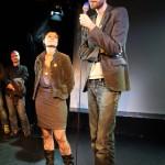 Dominik Tschütscher bedankt sich bei Katja Jäger