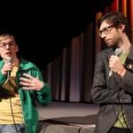 """Valentin Renoldner, dramaturgischer Berater des Eröffnungsfilms """"unibrennt – Bildungsprotest 2.0"""""""