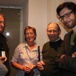 Von rechts: Dominik, Anton und Antonija Tschütscher